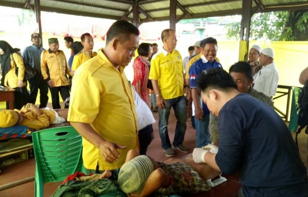 AMPG Kalbar Puji Antusiasme Masyarakat Ikuti Baksos di Sanggau