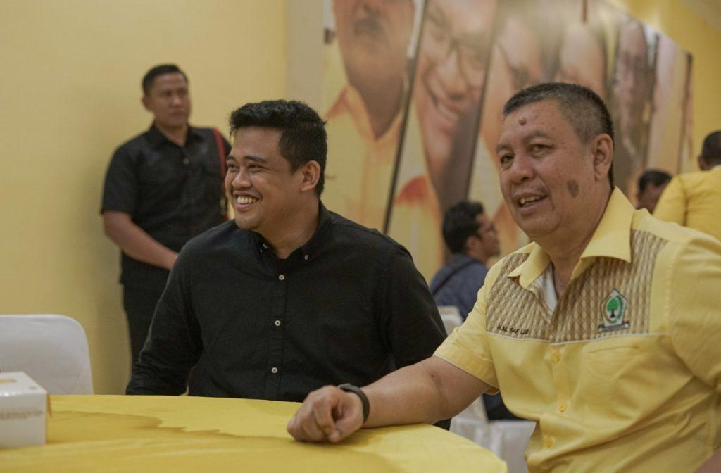 Syaf Lubis Haqqul Yaqin Golkar Bakal Menangkan Bobby Nasution di Pilkada Kota Medan