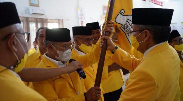 Bupati Iksan Iskandar Terpilih Aklamasi Pimpin Golkar Jeneponto, Ini Targetnya di Pemilu 2024