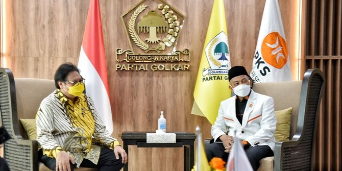 PKS Buka Peluang Koalisi Nasionalis-Religius Dengan Golkar, Usung Airlangga di Pilpres 2024