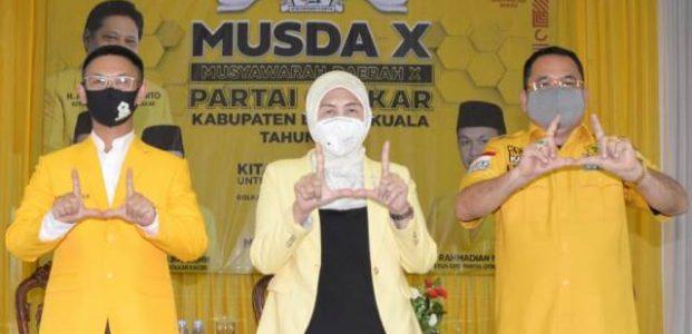 Wakil Bupati Rahmadian Noor Kembali Pimpin Golkar Barito Kuala