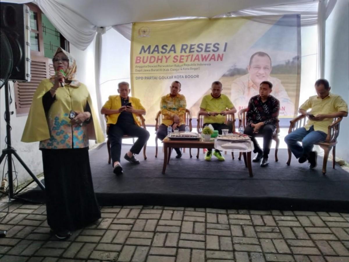 Budhy Setiawan Dorong Kader Golkar Kota Bogor Kawal Musrenbang Sejak Tingkat Kelurahan