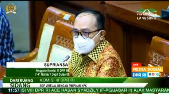 Supriansa Bongkar Tingkah Laku Sri Mulyani Di Depan Ketua KPK, Firli Bahuri