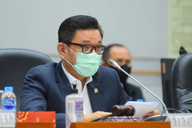 Ace Hasan Ingatkan Pemprov Sumsel Transparan Gunakan Hibah Bantuan Rp.2 Triliun Dari Akidi Tio