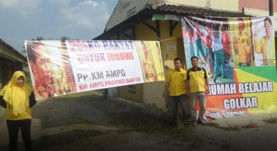 Dorong Airlangga Hartarto Jadi Cawapres Jokowi, KM AMPG Bentuk 1000 Posko Rakyat