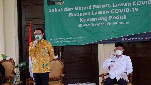 Ketika Wamendag Jerry Sambuaga dan Wagub Banten Andika Hazrumy Bertemu dan Saling Puji