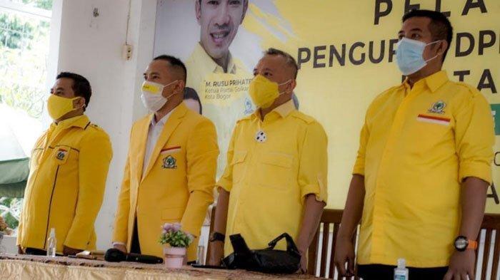 Rusli Prihatevy Percayakan Kader-Kader Muda Warnai Kepengurusan Baru Golkar Kota Bogor
