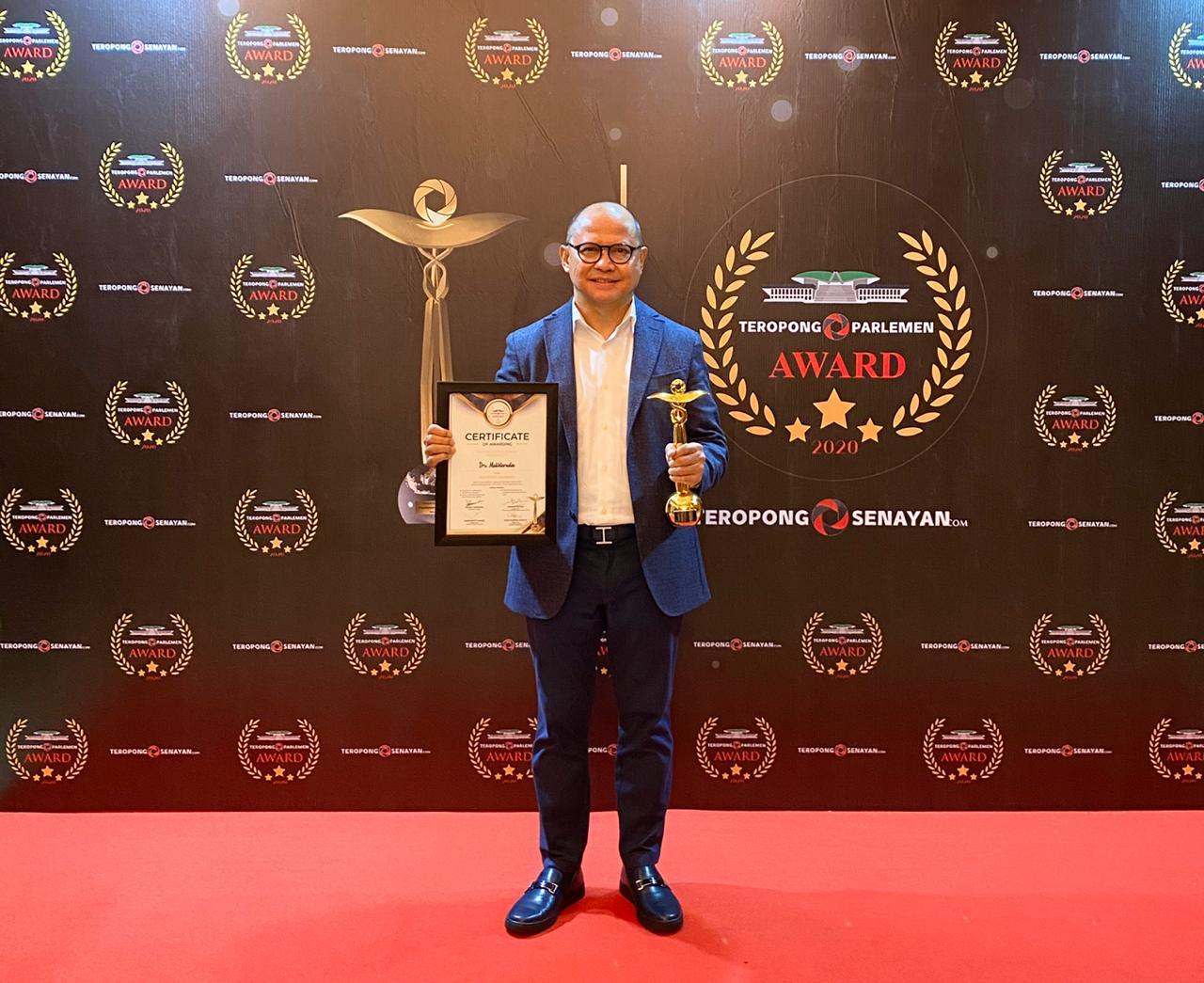 Raih Penghargaan Inspiring Journey, Mukhtarudin Ingin Jadi Motivasi Semua Anggota DPR