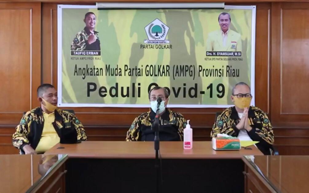 AMPG Riau Bagikan 1000 Paket Sembako Untuk Warga Kota Pekanbaru Terdampak COVID-19