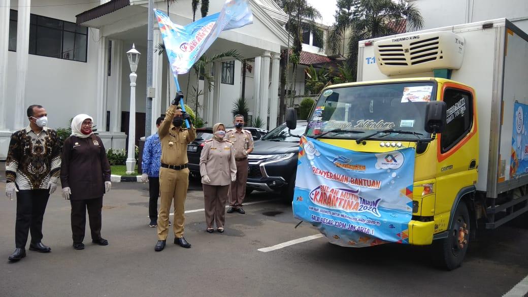 Budhy Setiawan Salurkan Ribuan Paket Ikan Sehat Bermutu Dari KKP Untuk Warga Bogor dan Cianjur