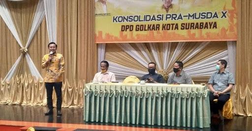 Terpilih Pimpin Golkar Kota Surabaya, Arif Fathoni Buktikan Golkar Bukan Partai Oligarki