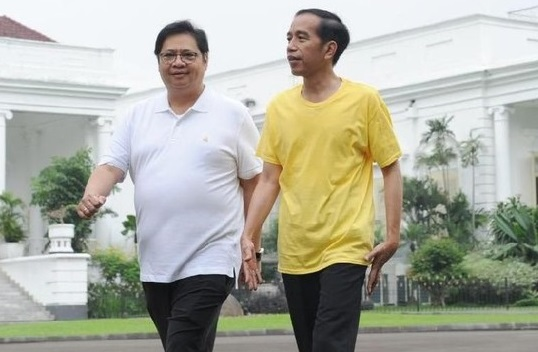 Pengamat Nilai Jokowi Kurang Puas Pada Kinerja Airlangga Hartarto Pimpin Partai Golkar