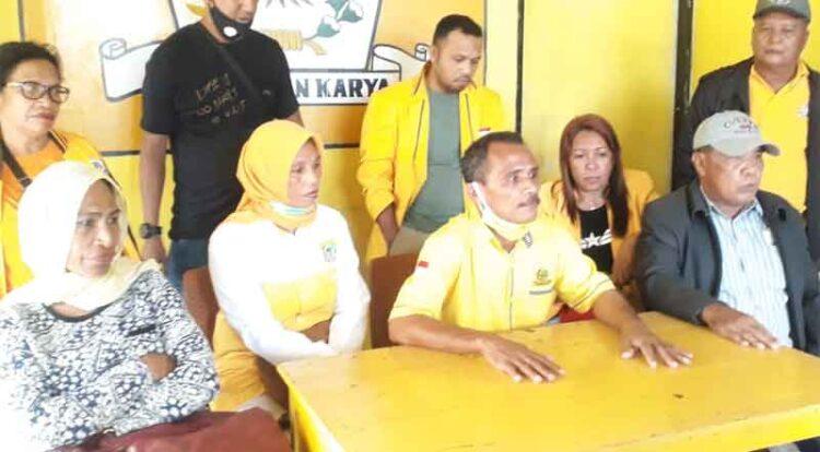 Nilai Musda Ilegal, Kader Duduki Paksa Kantor DPD Golkar Maluku Tenggara