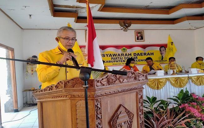 Terpilih Aklamasi Jadi Ketua, IGK Kresna Budi Siap Satukan Kader Golkar Buleleng
