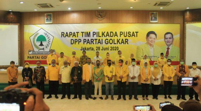 Seluruh Rekomendasi Golkar di Pilkada se-Banten Jatuh ke Petahana