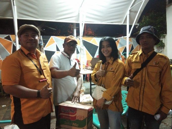 Gema MKGR dan Mapancas Bantu Korban Banjir Kota Bekasi