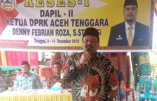 Petani Terancam Gagal Panen, Ali Basrah Minta Pemkab Aceh Tenggara Atasi Langkanya Urea Bersubsidi