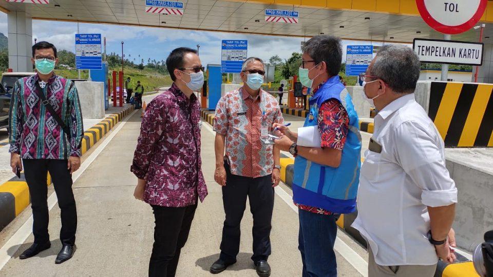 Wamendag Jerry Sambuaga Optimalkan Tol Manado-Bitung Untuk Tingkatkan Daya Saing Produk Lokal