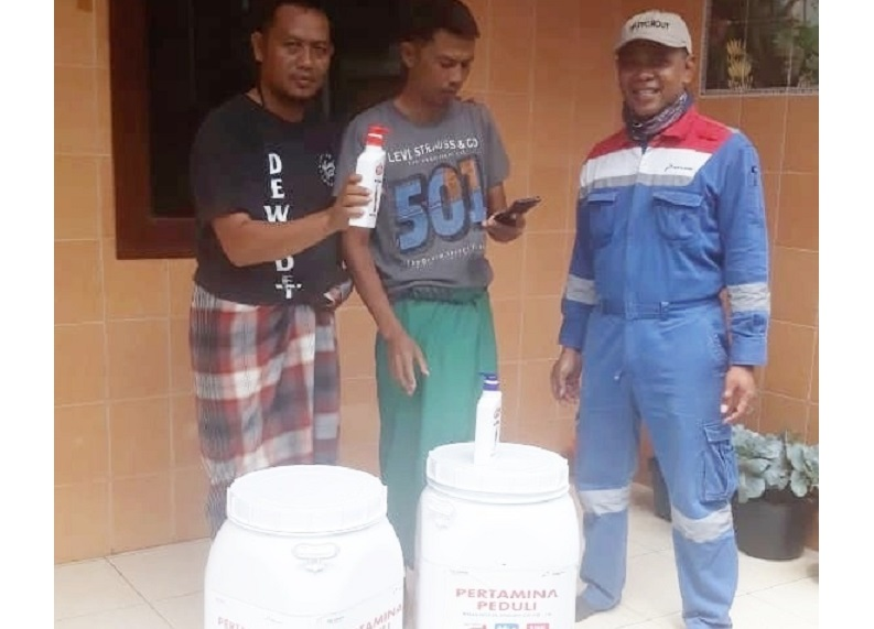 Suryadi Gandeng Pertamina Peduli COVID-19 Sebarkan Wastafel Portabel di Kota Malang
