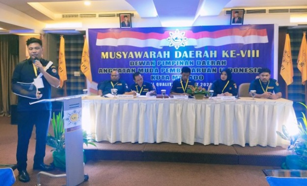 Meikel Stif Maringka Pimpin AMPI Kota Manado, Ini Susunan Pengurusnya