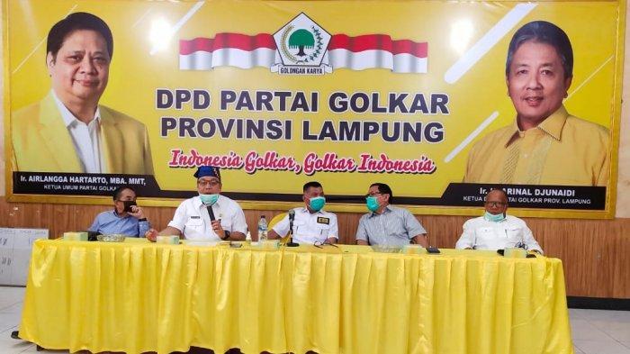 Tony Eka Candra Siap Jalankan Mandat DPP Golkar Maju di Pilkada Lampung Selatan 2020