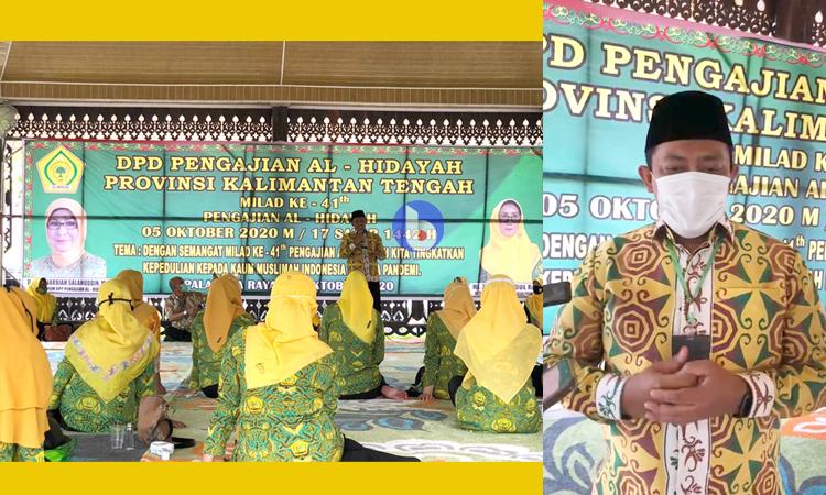 Milad Ke-41, Edy Pratowo Ajak Al-Hidayah Sukseskan Food Estate di Kalteng