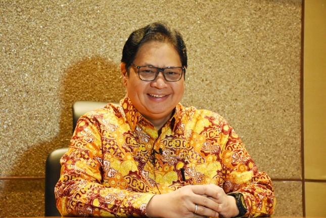 Menko Airlangga Pastikan 75 Persen Anggota DPR Dukung Pengesahan RUU Omnibus Law