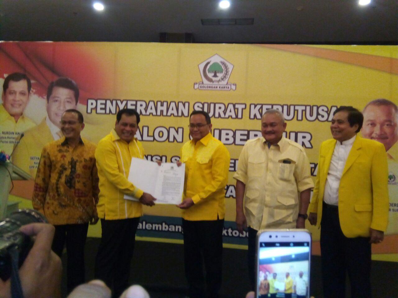 Jadi Kandidat Terkuat, Dodi Reza Tunggu Restu Ayahanda Untuk Pimpin Golkar Sumsel