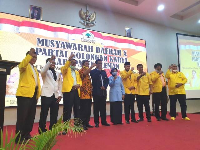 Ogah Sleman Dipimpin Bupati Boneka, Golkar Pilih Usung Sri Muslimatun-Amin Purnomo