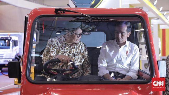 Sabil Rachman Klaim Gestur Jokowi Tampak Nyaman Dengan Airlangga