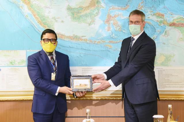 Terima Dubes Uni Eropa, Ahmad Doli Kurnia Paparkan Kesiapan Gelar Pilkada Di Tengah Pandemi