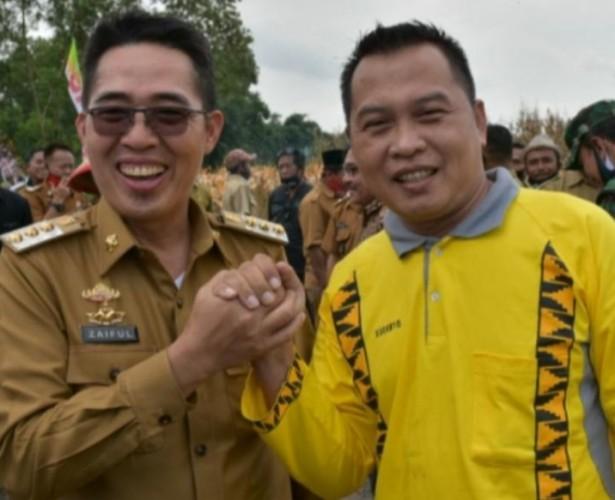 Sudibyo Siap Dampingi Zaiful Bokhari di Pilkada Lampung Timur
