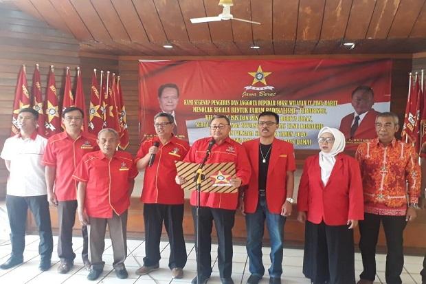 SOKSI Jawa Barat Deklarasi Kebangsaan Tolak Radikalisme, Terorisme dan ISIS