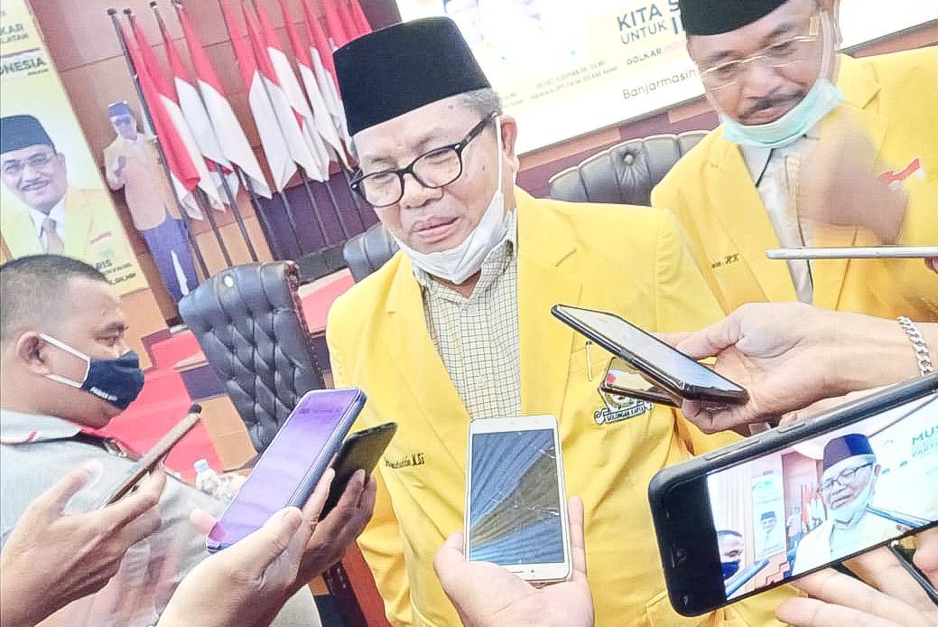 Ansharuddin Kembali Terpilih Aklamasi Pimpin Golkar Balangan