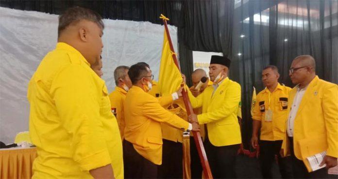 Diwarnai Aksi Walkout, Zahari Terpilih Aklamasi Jadi Ketua Golkar Baubau