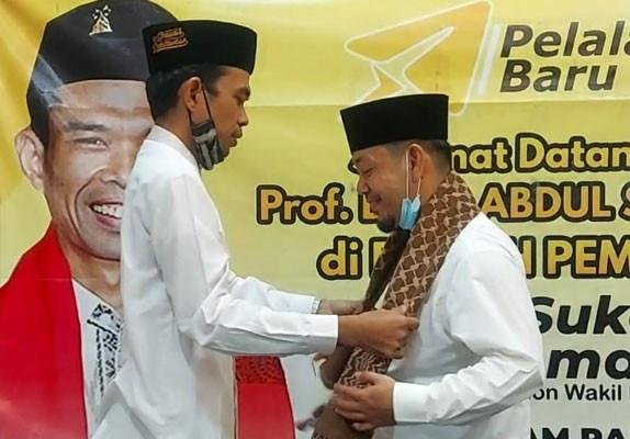 Ini Bentuk Dukungan Ustadz Abdul Somad Kepada Adi Sukemi di Pilkada Pelalawan