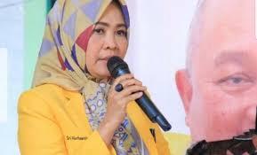 Disaksikan Dodi Reza, Sri Marhaeni Wulansih Ditetapkan Jadi Ketua Golkar Lahat
