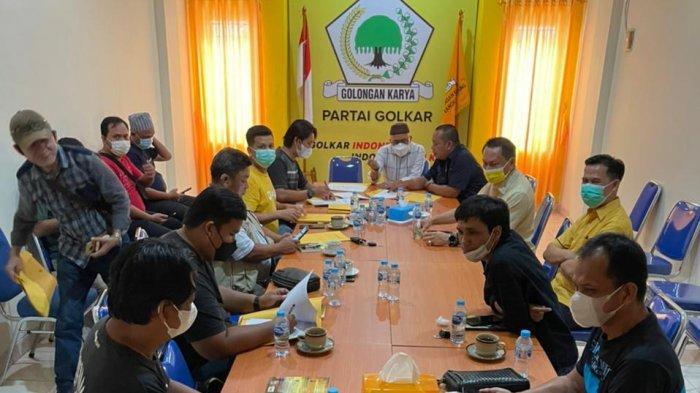 Sinergitas MPO Golkar Babel Dengan Media Online, Bambang Patijaya: Mohon Dukungannya