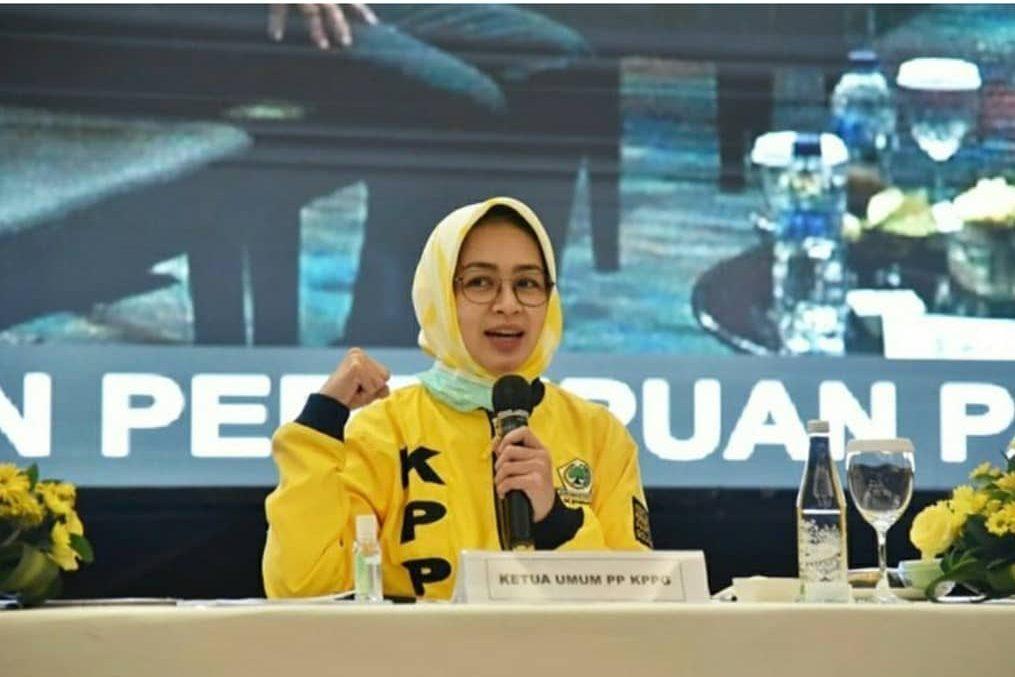 KPPG Bekali Kader Perempuan Strategi Kampanye dan Pemenangan Golkar