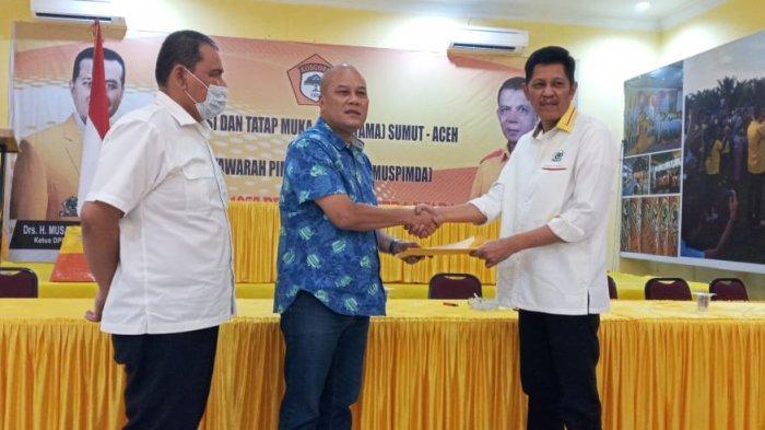 Tak Ingin Ada Perpecahan, Tengku Ahmad Tala'a Mundur Dari Jabatan Ketua Golkar Deliserdang