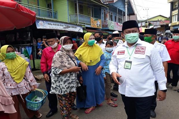 Blusukan ke Kotim, Cawagub Kalteng Edy Pratowo Disambut Meriah Warga Parenggean