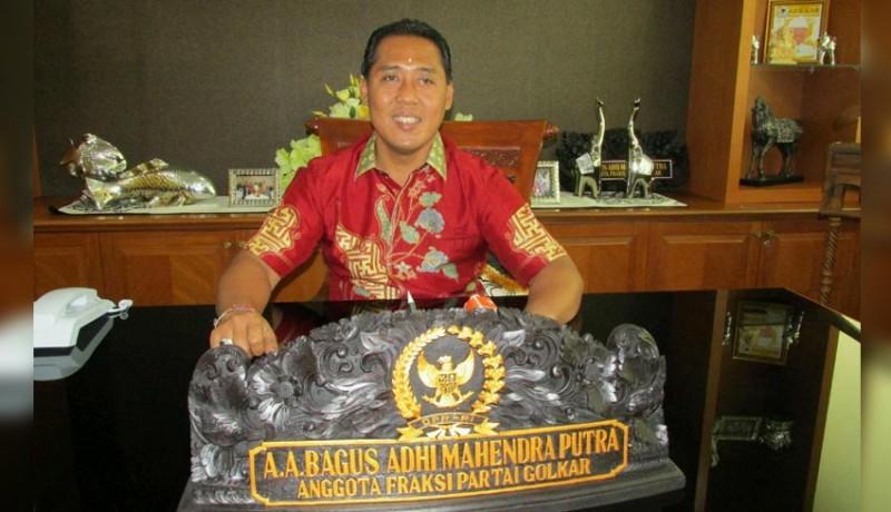 Bagus Adhi Mahendra Putra Dorong Senior Pimpin Golkar Bali