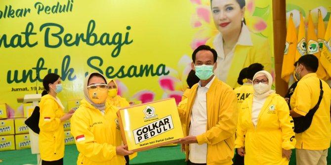 IIPG Salurkan 1000 Paket Sembako dan 1500 Makanan Siap Saji Untuk Wahid Foundation