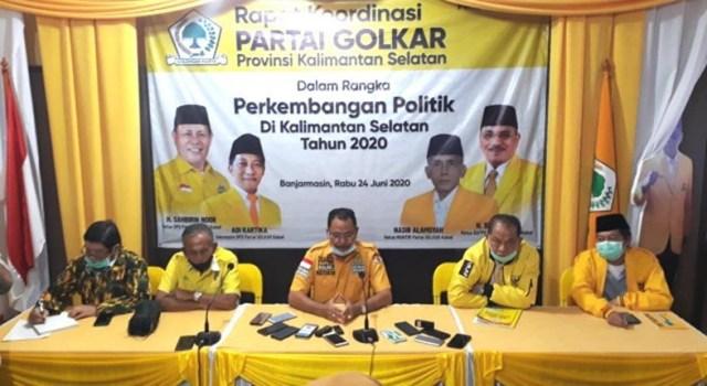 Golkar Kalsel Usung Abdul Haris Makkie-Yuni Abdi Nur Sulaiman di Pilwali Banjarmasin 2020