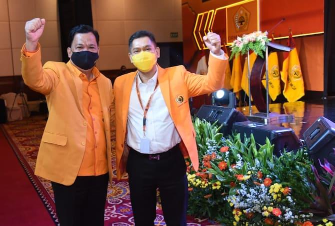 Mubes IX Ormas MKGR, Adies Kadir Ditetapkan Jadi Ketua Umum Dengan Aklamasi