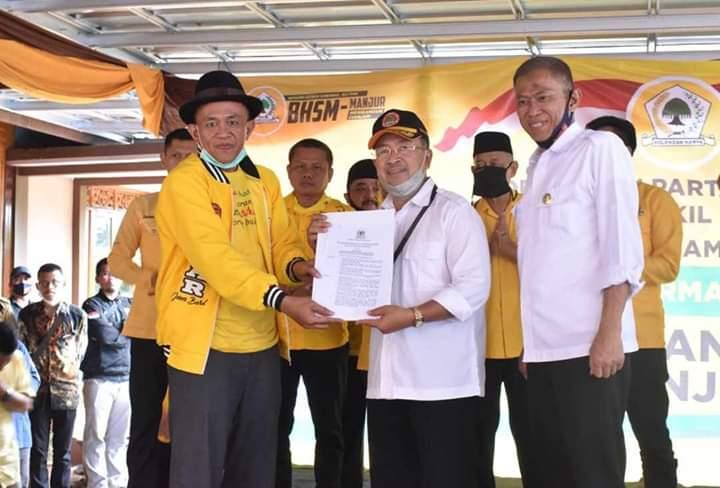 Golkar Resmi Usung Herman Suherman-TB Mulyana Syahrudin di Pilbup Cianjur