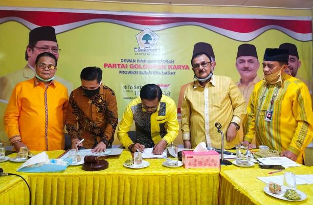Tingkatkan Kualitas SDM Kader, Golkar Sumbar Jalin Kerjasama Dengan Universitas Taman Siswa