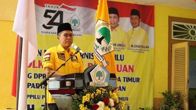 Misbakhun Ungkap 99,9 Persen Golkar Koalisi Dengan PKB di Pasuruan Usung Gus Ipul-Adi Wibowo