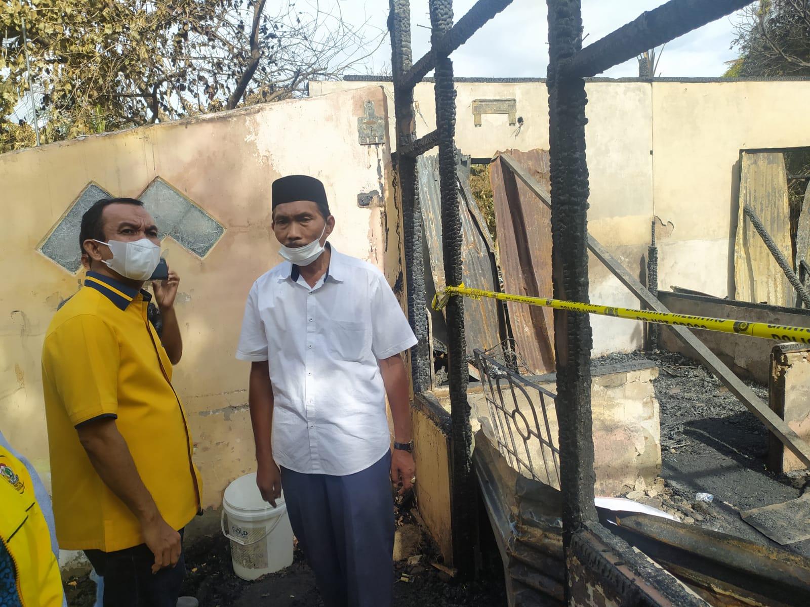 Golkar Kota Banda Aceh Serahkan Bantuan Masa Panik Untuk Korban Kebakaran di Desa Beurawe