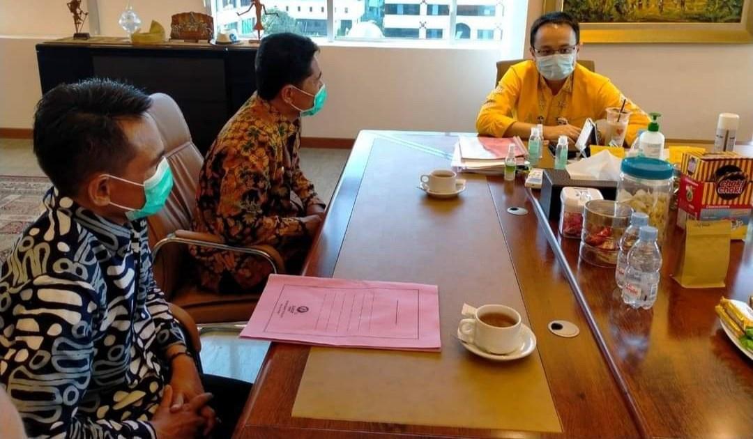 Bupati La Bakry Lobi Wamendag Jerry Sambuaga Kembangkan Pasar Modern di Buton